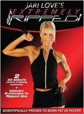 Jari Love's - Get Extremely Ripped [2009, Aэробика, DVDRip]