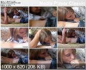 Девочку учат делать минет (Львов) [2007 г., teen, oral, amateurs, homemade CamRip]
