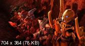 Бионикл: Легенда возрождается / Bionicle: The Legend Reborn (Марк Балдо / Mark Baldo) [2009 г.,боевик, приключения, мультфильм, DVDRip ] Dub