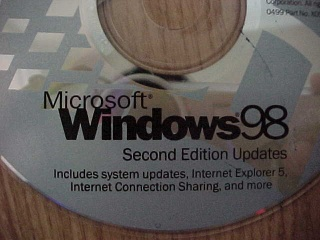 Microsoft Windows 98 Second Edition OEM (eng) - оригинальный образ